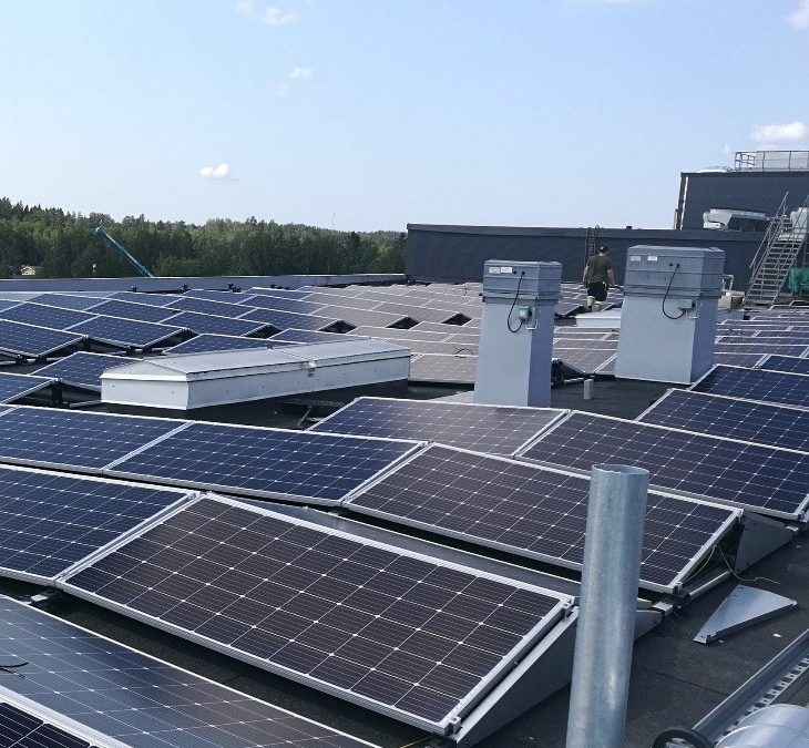 Solar power plant Kaarina